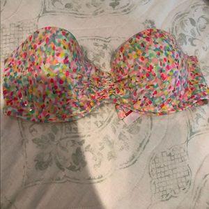 Strapless Victoria's Secret Bikini top